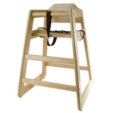 High Chair Wood